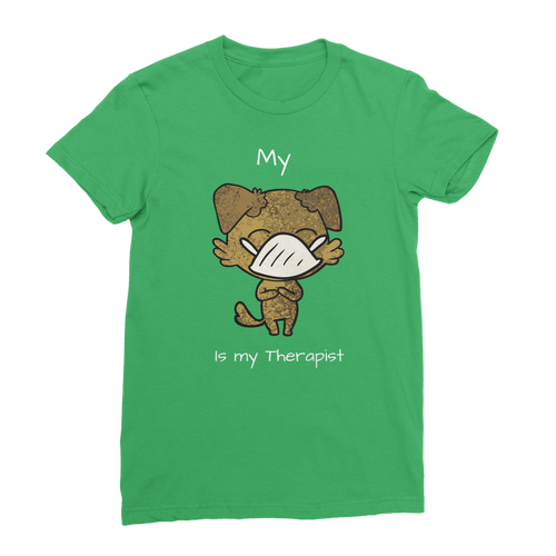 My ?? Is My Therapist (White) Classic Women's T-Shirt