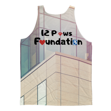 Load image into Gallery viewer, 12 Paws Corporate Classic Sublimation Adult Tank Top