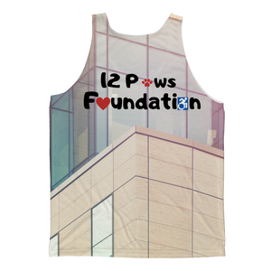 12 Paws Corporate Classic Sublimation Adult Tank Top