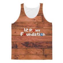 Load image into Gallery viewer, Knock on Wood 12 Paws Pattern Classic Sublimation Adult Tank Top