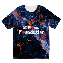 Load image into Gallery viewer, 12 Paws Night Lights Pattern Sublimation Kids T-Shirt