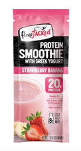 Load image into Gallery viewer, PROTEIN SMOOTHIE WITH GREEK YOGURT BOX FlapJacked