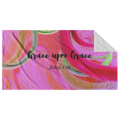 Beach towel with bible verse, bible quotes beach towel