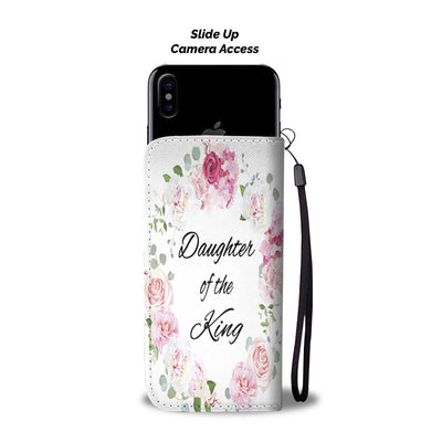 Bible wallet phone case-Daughter of the King