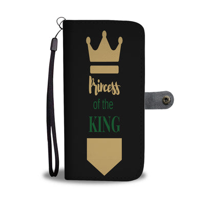 Princess of the King wallet phone case