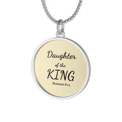 Daughter of the king necklace, bible verse necklace, gift for her necklace