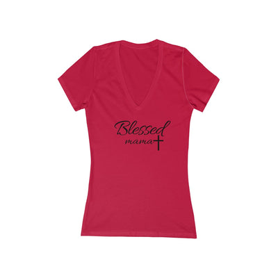 Christian T shirt for Women----You are blessed by God because of Jesus
