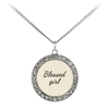 Scripture jewelry-You are a blessed girl by God