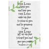 Scripture wall art, bible wall decor-Numbers 6:24-26