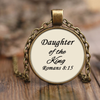 Scripture necklace-Daughter of the king