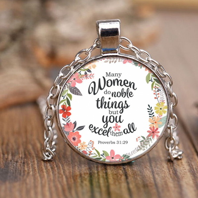 Christian Inspirational Necklace for woman