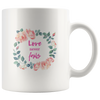Bible coffee mug, faith coffee mug, bible tea mug, faith tea mug, Christmas gift for her-Love never fails.