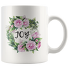 Bible coffee mug, faith coffee mug, bible tea mug, faith tea mug, Christmas gift for her-Joy mug