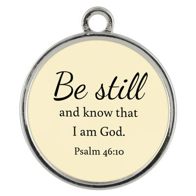 Scripture jewelry-Be still and know that I am God(Psalm 46:10) 1