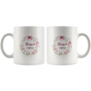 Bible coffee mug, faith coffee mug, bible tea mug, faith tea mug, Christmas gift for her-I am the blessed mom.