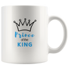 Bible coffee mug, faith coffee mug, bible tea mug, faith tea mug, holiday gift for him-Prince of the king
