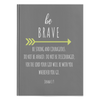 Scripture notebook, christian notebook, bible notebook, hardcover-Be brave. (Joshua 1:9)