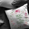 Bible pillow, faith pillow, Christmas gift for family-God is in control and his timing is perfect