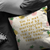 Scripture pillow-Sin is not ended by multiplying words, but the prudent hold their tongues.(Proverbs 10:19)