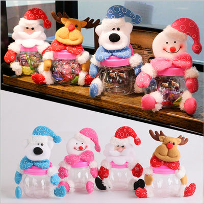 Christmas\New Year Candy Jars