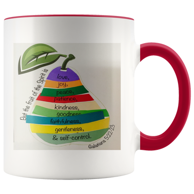 Scripture mugs-The fruits of holy spirit