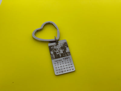 Gift for him----Personalized keychain