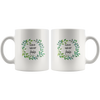 Scripture mug-Love never fails. (1 Corinthians 13:8)