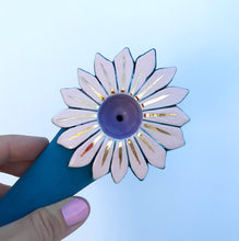 SUNFLOWER POWER PIPE - Teal/Pink/Gold