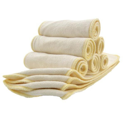 3-layer OSFM Pure Bamboo Insert - Chirpy Cheeks Nappy Store - cloth nappies, wetbags, mama pads, breast pads, swim nappies