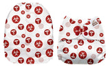 OSFM Pocket Nappy-Upright Bum Print  -  32124U
