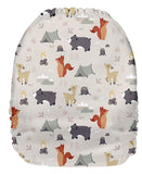 Upright Bum Print - PD33046U (Shell Only)