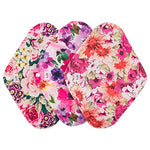 3 PCS Reusable Cloth Menstrual Pads with Mini-Wetbag- 3W02