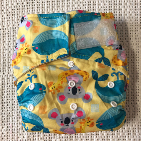 OSFM Velcro Pocket Nappy - VH191
