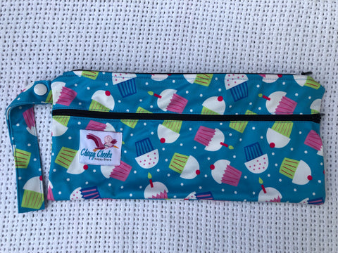 Mini Wetbag - Double-Zip N101 - Chirpy Cheeks Nappy Store - cloth nappies, wetbags, mama pads, breast pads, swim nappies
