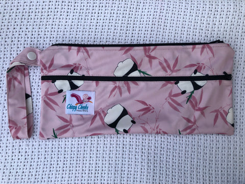 Mini Wetbag - Double-Zip N095 - Chirpy Cheeks Nappy Store - cloth nappies, wetbags, mama pads, breast pads, swim nappies