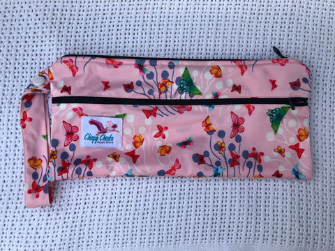 Mini Wetbag - Double-Zip N092 - Chirpy Cheeks Nappy Store - cloth nappies, wetbags, mama pads, breast pads, swim nappies