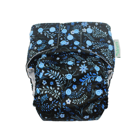Minimi Midnight Bloom Nappy (pocket shell only)