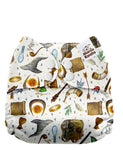 Upright Bum Print - PD1702U (Shell Only)