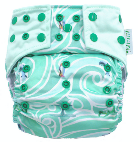 Minimi Marine Mana Nappy (pocket shell only)