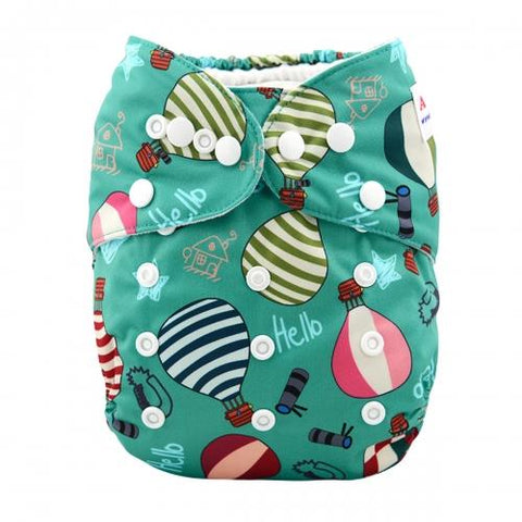 OSFM All-In-One - AO-H021 - Chirpy Cheeks Nappy Store - cloth nappies, wetbags, mama pads, breast pads, swim nappies