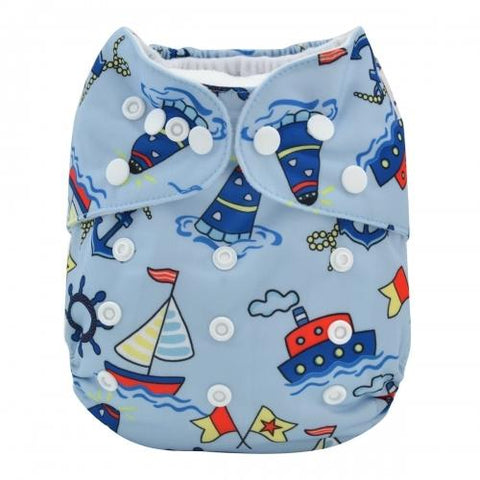 OSFM All-In-One - AO-YA126 - Chirpy Cheeks Nappy Store - cloth nappies, wetbags, mama pads, breast pads, swim nappies