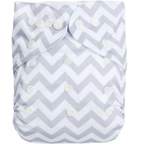 OSFM Bamboo Pocket Nappy - BS33 - Chirpy Cheeks Nappy Store - cloth nappies, wetbags, mama pads, breast pads, swim nappies