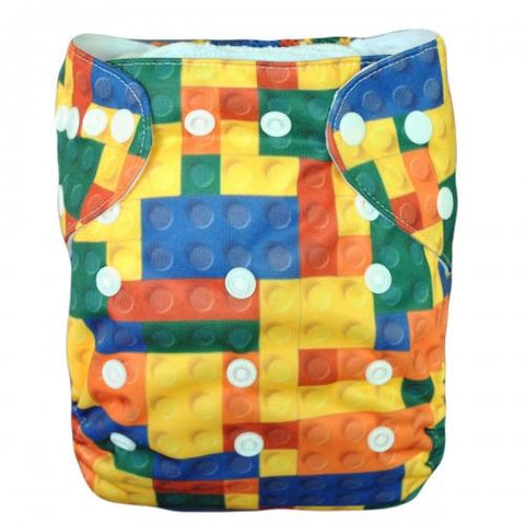 OSFM Bamboo Pocket Nappy - BYA39 - Chirpy Cheeks Nappy Store - cloth nappies, wetbags, mama pads, breast pads, swim nappies