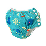 2-in-1 Training Pants & Swim Nappy - FD01 - Chirpy Cheeks Nappy Store - cloth nappies, wetbags, mama pads, breast pads, swim nappies