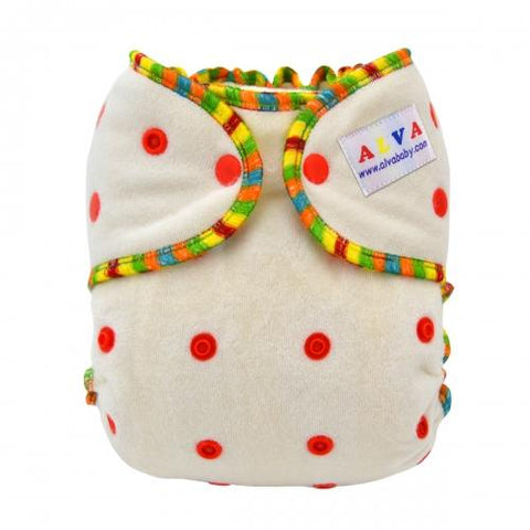 OSFM Bamboo-Fitted Nappy - FT01 - Chirpy Cheeks Nappy Store - cloth nappies, wetbags, mama pads, breast pads, swim nappies