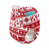 OSFM Pocket Nappy - Q44 (Limited Christmas Print)