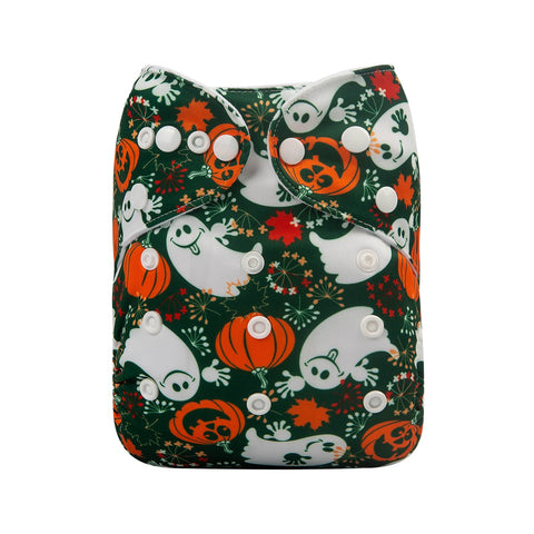 OSFM Pocket Nappy - Q63 (Limited Halloween Print)