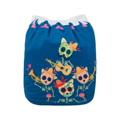 OSFM Pocket Nappy - QD23 (Limited Halloween Print)