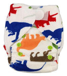 Velcro Newborn minky Pocket Nappy - VM12