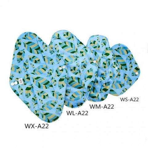 Mama Pads - W-A22 - Chirpy Cheeks Nappy Store - cloth nappies, wetbags, mama pads, breast pads, swim nappies